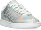 K-Swiss Little Girls' Classic VN Metallic Casual Sneakers from Finish Line
