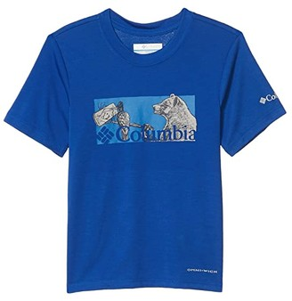 Columbia Kids Ranco Laketm Short Sleeve Tee (Little Kids/Big Kids) (Azul Nature Portrait) Boy's Clothing