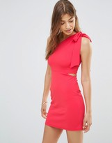Oh My Love One Shoulder Bodycon Dress