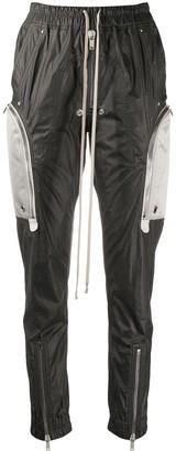 Rick Owens High-Waisted Skinny Track Pants