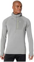 Arc'teryx Delta MX 1/2 Zip Hoodie (Black) Men's Clothing
