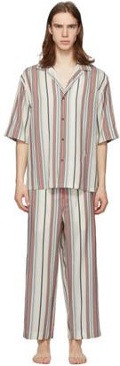 Jil Sanderand White Silk Pyjama Set