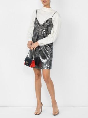 Dundas Metallic Sequin Mini Dress