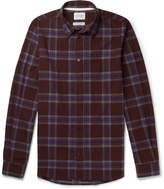 Norse Projects - Osvald Slim-fit Checked Cotton-flannel Shirt