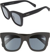 Quay After Hours 50mm Square Sunglasses