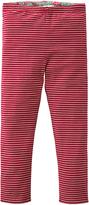Oilily Pink & Green Floral Reversible Leggings - Infant Toddler & Girls