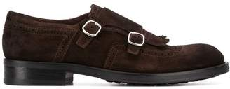 Doucal's side buckle shoes