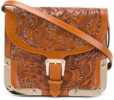 RED Valentino embossed shoulder bag - women - Calf Leather/Metal (Other) - One Size