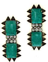 Nicole Romano Chao Snake Bite Earrings