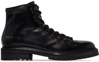 Common Projects Ankle Hiking Style Boots