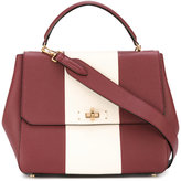 Bally striped tote