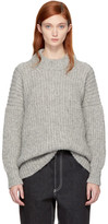 LAUREN MANOOGIAN Grey Fisherwoman Sweater