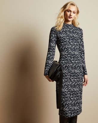 Ted Baker Leopard Print Bodycon Dress