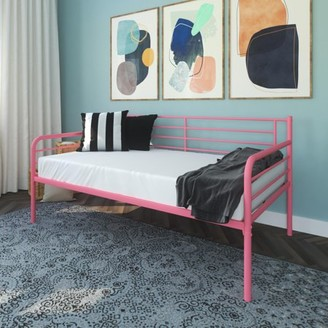 DHP Metal Daybed, Pink