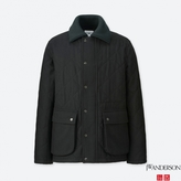 Uniqlo MEN J.W.Anderson Wool Blended Quilted Jacket
