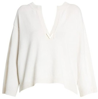 Valentino Cashmere V-Neck Sweater
