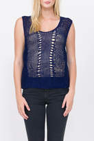 Qi Hand Knit Tank Top