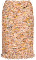 ESTNATION embroidered pencil skirt