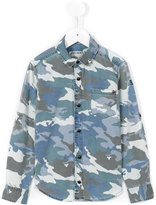 Zadig & Voltaire Kids - camouflage print shirt - kids - Cotton - 5 yrs