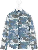 Zadig & Voltaire Kids - camouflage print shirt - kids - Cotton - 8 yrs