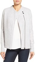 Caslon Knit Sweater Coat (Regular & Petite)