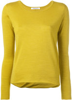 Lamberto Losani draped back jumper - women - Silk/Virgin Wool - S