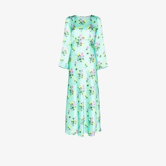 BERNADETTE Jane floral print silk dress