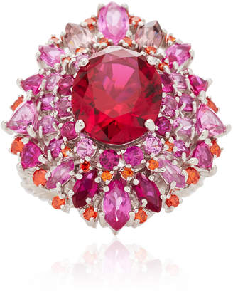 Anabela Chan Ruby Mirage Ring Size: 5