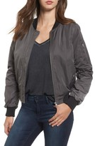 BB Dakota Women's Graham Satin Bomber Jacket