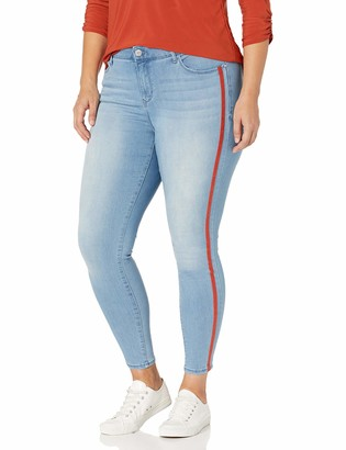 Skinnygirl Women's Plus Size The Skinny Christina Marie Jean in Injeanious Stretch