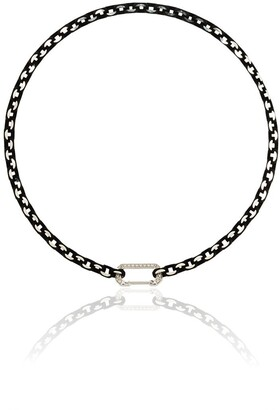 EÉRA 18kt white gold Lucy diamond-embellished choker