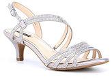 Alex Marie Layona Jeweled Dress Sandals
