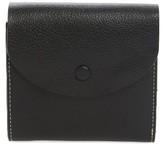 Women's Halogen Leather French Wallet - Black