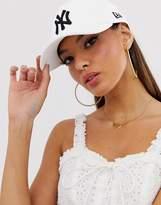 New Era 9forty White Ny Cap