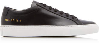 Common Projects Original Achilles Two-Tone Leather Sneakers Size: 35