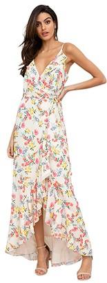 Yumi Kim Meadow Maxi (Mulberry Ivory) Women's Dress