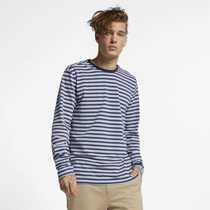4fba183b13 Men's Long-Sleeve Striped Top Hurley Dri-FIT Harvey