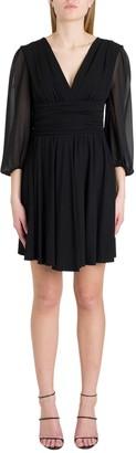 Liu Jo Liu-Jo Ruffled Jersey Dress