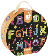 Janod Giant ABC Wooden Monster Puzzle, 50 Pieces