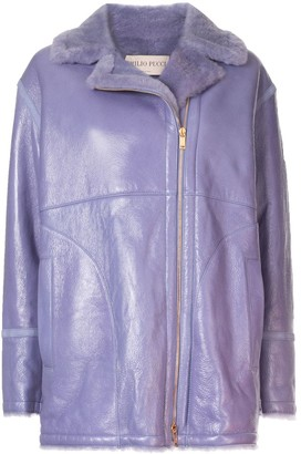 Emilio Pucci Off-Centre Zipped Jacket