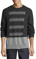 Robert Graham Vostok Donegal Crewneck Sweater