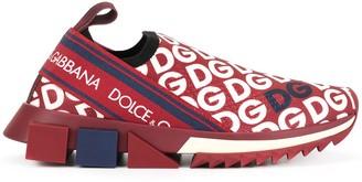Dolce & Gabbana Sorrento logo-print sneakers