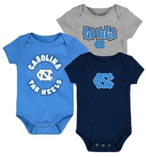 Outerstuff Baby North Carolina Tar Heels Everyday Fan 3 Piece Creeper Set