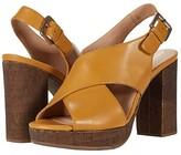 Geox Gerbera High 1 (Ochre) Women's Shoes