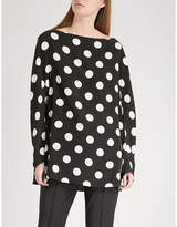 Sportmax Lupin silk top
