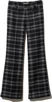 L.L. Bean Signature Italian Wool Trouser, Plaid