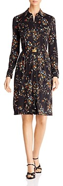 Tory Burch Floral-Printed Shirt Dress