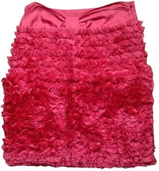 Tara Jarmon Pink Silk Skirt for Women