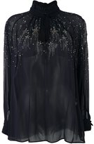 Roberto Cavalli embellished blouses