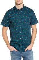 1901 Men's Patterned Woven Shirt